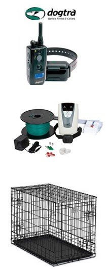 Ask About Our electric shock collars, or our electric underground fence.